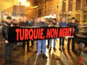 Antwerpen - Turquie, non merci ! (16-12-2004)