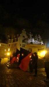11 mars 2011 sur la place d'Espagne, en plein centre de Bruxelles, les morts des attentats de Madrid ont été honorés comme il le fallait.