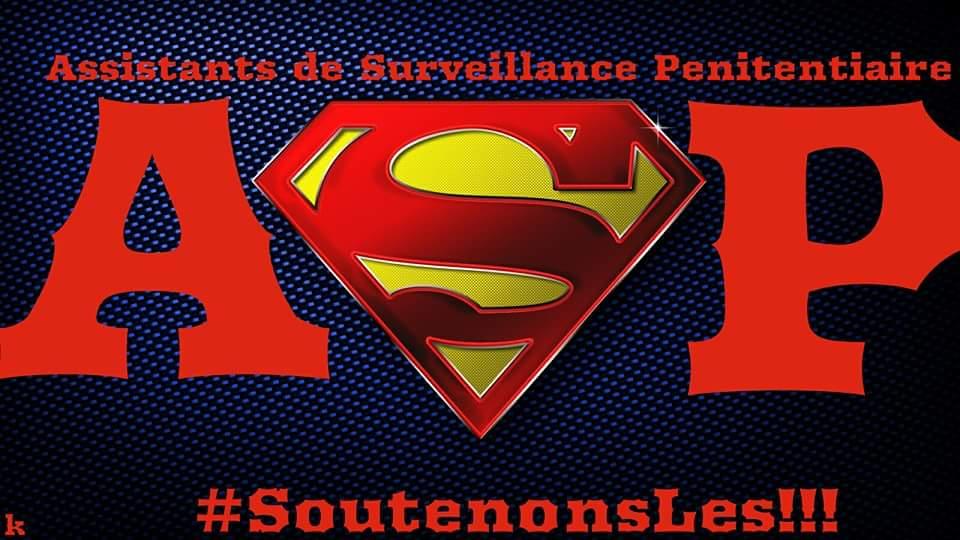 Soutenons les Assistants de Surveillance Pénitentiaire