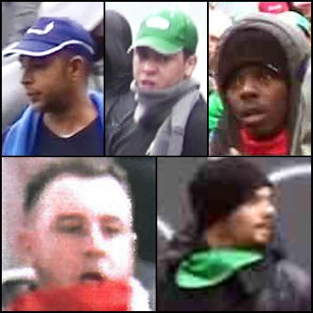 Avis de recherche lancé hier par la police pour retrouver les casseurs de la manifestation d'octobre 2015