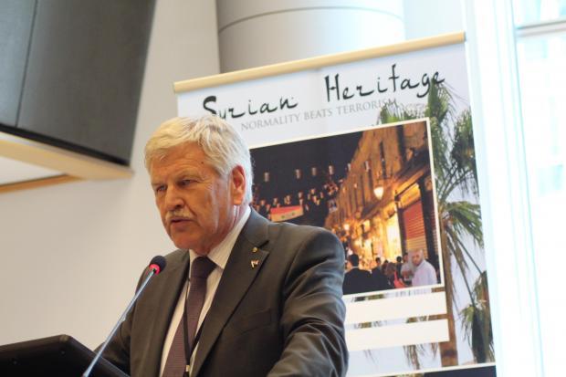 Udo Voigt, député européen du NPD