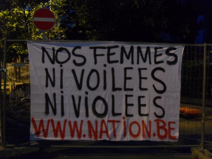 NATION Nos femmes ni voilées ni violées
