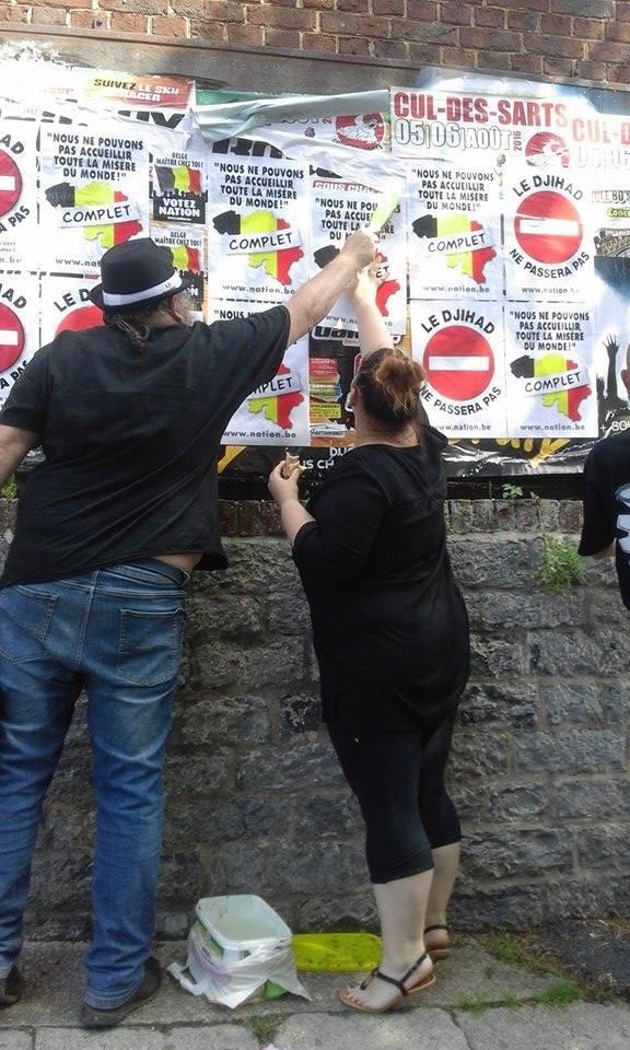 Les migrants manifestent à Couvin… NATION réagit ! (2)