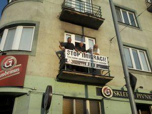 Des militants de NATION en Tchéquie !
