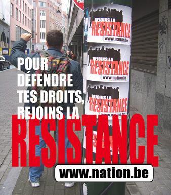 NATION.be - Pour défendre tes droits, rejoins la résistances !